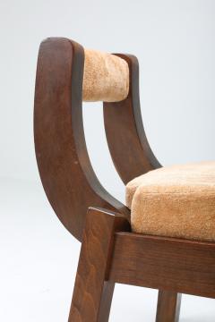 Italian Walnut Dining Chairs 1950s - 1999180