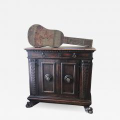 Italian Walnut cabinet credenza - 1352740