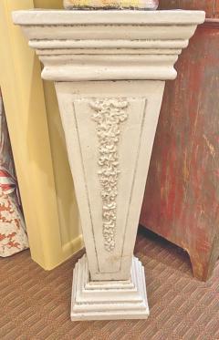 Italian White Lead Glazed Terracotta Sculpture of Selene Goddess of the Moon - 1903836