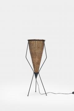 Italian basket lamp 50s - 1704035