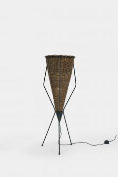 Italian basket lamp 50s - 1704056