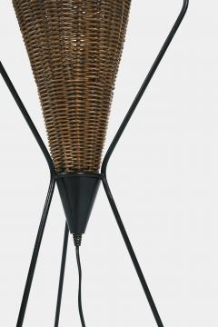 Italian basket lamp 50s - 1704057