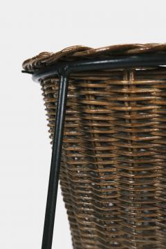 Italian basket lamp 50s - 1704058