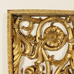 Italian giltwood overdoor ornament panel 18th century - 760729