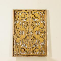 Italian giltwood overdoor ornament panel 18th century - 760731