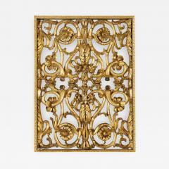 Italian giltwood overdoor ornament panel 18th century - 764227