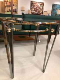 Italian glass table - 1252320