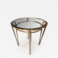 Italian glass table - 1369323