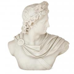 Italian marble sculpture of Apollo - 1459621