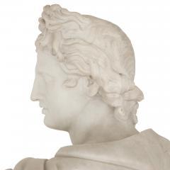 Italian marble sculpture of Apollo - 1459627