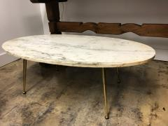 Italian marble top coffee table - 1001400