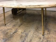 Italian marble top coffee table - 1001402