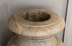 Italian pair of Neoclassical Marble Vases Serracolin Versailles - 1964036