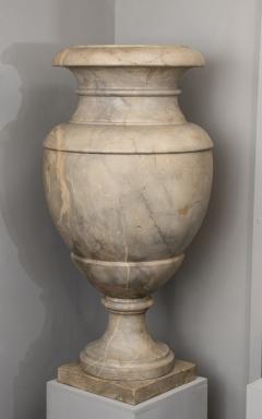 Italian pair of Neoclassical Marble Vases Serracolin Versailles - 1964038