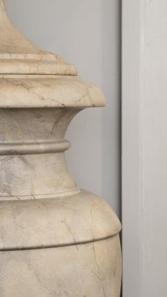 Italian pair of Neoclassical Marble Vases Serracolin Versailles - 1964040