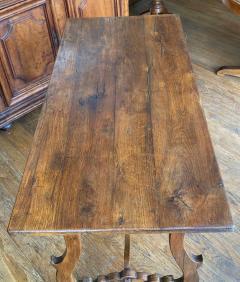 Italian walnut table Circa 1850 - 1819940