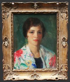 Ivan Gregorewitch Olinsky Portrait of a Young Woman - 1023616