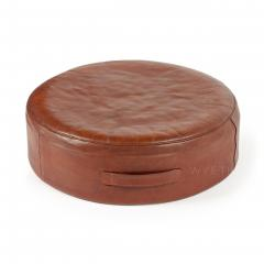 Ivan Schlechter Red Leather Stool - 784548