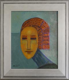 Ivan da Silva Bruhns Oil on board depicting a portrait - 1197101