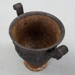 Ivar Johnsson Cast Iron Garden Urn Designed by Ivar Johnsson - 1332155