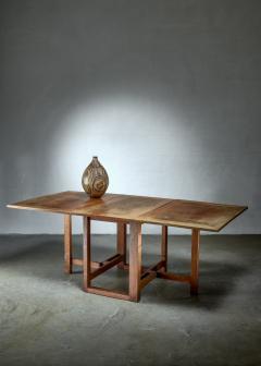 J A Muntendam Muntendam drop leaf dining table for LOV Dutch 1920s - 1163904