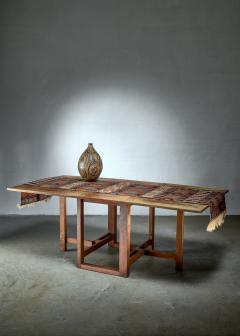 J A Muntendam Muntendam drop leaf dining table for LOV Dutch 1920s - 1163906