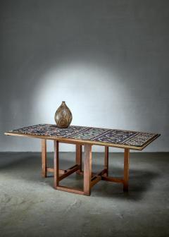 J A Muntendam Muntendam drop leaf dining table for LOV Dutch 1920s - 1163907
