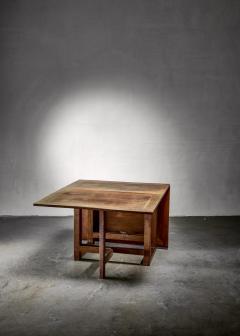 J A Muntendam Muntendam drop leaf dining table for LOV Dutch 1920s - 1163911