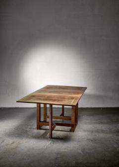 J A Muntendam Muntendam drop leaf dining table for LOV Dutch 1920s - 1163912