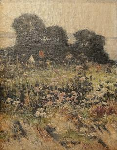 J Ambrose Pritchard Untitled Landscape likely Massachusetts shore  - 977241