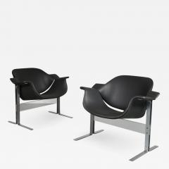 J B Meyer J B Meyer Lounge Chairs for Kembo Netherlands 1960s - 968137