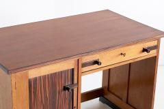 J J Buskes J J Buskes Art Deco Desk in Oak and Macassar Ebony Netherlands 1925 - 1497204