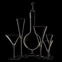 J L Lobmeyr Ambassador Set No 240 Martini Glass by Oswald Haerdtl - 1587081
