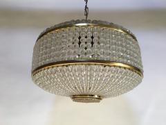 J L Lobmeyr Austrian Brass and Glass Chandelier by J L Lobmeyr - 575661