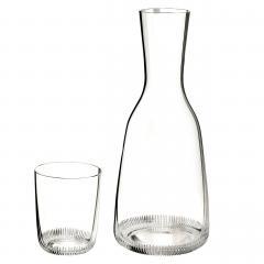 J L Lobmeyr Grip Drinking Set No 281 Wine Decanter by Marco Dess  - 1586890