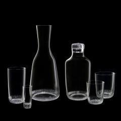 J L Lobmeyr Grip Drinking Set No 281 Wine Decanter by Marco Dess  - 1586892