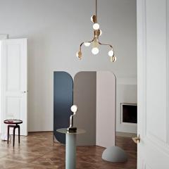 J L Lobmeyr Script Floor Lamp by Bodo Sperlein - 1577980