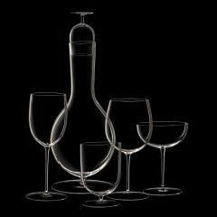 J L Lobmeyr Wiener Gemischter Satz Drinking Set No 280 Decanter by POLKA - 1587122