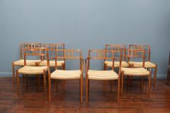 J L M llers M belfabrik Scandinavian Modern Niels O Moller Model 79 Dining Chairs - 1152978
