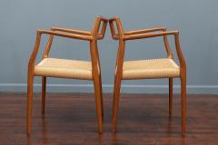 J L M llers M belfabrik Scandinavian Modern Niels O Moller Model 79 Dining Chairs - 1152980