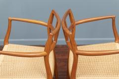 J L M llers M belfabrik Scandinavian Modern Niels O Moller Model 79 Dining Chairs - 1152981