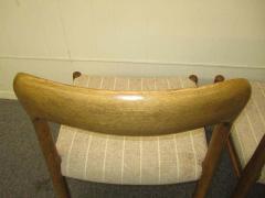 J L M llers M belfabrik Wonderful Set of Six J L Moller Teak Dining Chairs Danish Mid Century Modern - 1843415