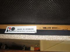 J L M llers M belfabrik Wonderful Set of Six J L Moller Teak Dining Chairs Danish Mid Century Modern - 1843416