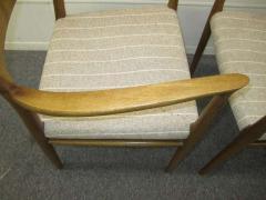 J L M llers M belfabrik Wonderful Set of Six J L Moller Teak Dining Chairs Danish Mid Century Modern - 1843417