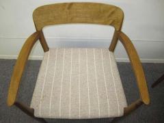 J L M llers M belfabrik Wonderful Set of Six J L Moller Teak Dining Chairs Danish Mid Century Modern - 1843418