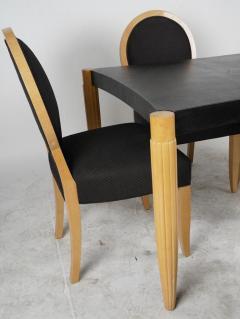J Robert Scott Art Deco Style J Robert Scott Dining Table 4 Chairs - 2142260