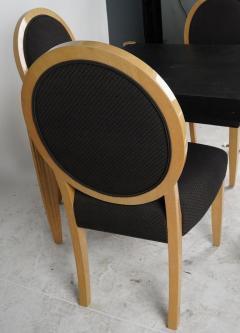 J Robert Scott Art Deco Style J Robert Scott Dining Table 4 Chairs - 2142262