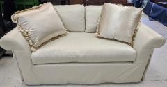 J Robert Scott J Robert Scott Silk Upholstered Down Filled Lovseat Sofa - 2076584