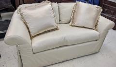 J Robert Scott J Robert Scott Silk Upholstered Down Filled Lovseat Sofa - 2076585