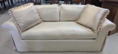 J Robert Scott J Robert Scott Silk Upholstered Down Filled Sofa - 2076589